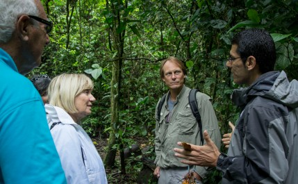 UGA Costa Rica Manager Fabricio Camacho talks about the importance of many of the ongoing research projects on campus.